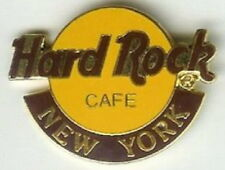 Hard Rock Cafe NEW YORK 1990s Large CLASSIC HRC Logo PIN 2LC GRID - HRC #6486