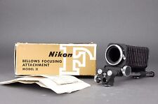 Nikon Bellows Focusing Attachment Extension Model II