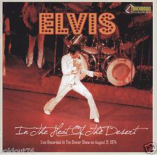 ELVIS - IN THE HEAT OF THE DESERT - NEW CONCERT CD