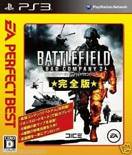 Used PS3 Battlefield: Bad Company 2 PLAYSTATION 3 JAPAN JAPANESE IMPORT