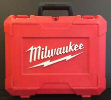 Milwaukee Fuel 2606-20 M18 Hard Case Only No Drill, Battery, Charger 2601-22