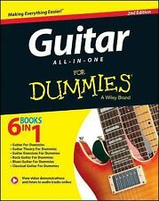 Dummies - Guitar All In One For Dumm 2e (2014) - New - Trade Paper (Paperba