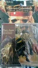 ZIZZLE PIRATES OF THE CARIBBEAN DEAD MANS CHEST 1ST ISSUE DAVY JONES FIGURE  MOC