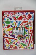 DYLAN'S Candy Bar Red Fitted Case Stand IPad 3rd & 2 NIB NEW