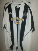 Newcastle United 2005-2007 Home Football Shirt Size XL /19958