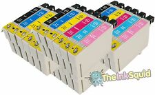 24 T0801-6/T0807 non-oem Hummingbird Ink Cartridges fits Epson Stylus Photo P50