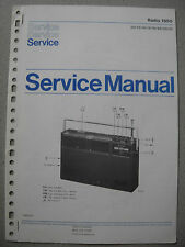 Philips 1650 Kofferradio Service Manual