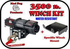 3500lb Mad Dog Winch Mount Combo Yamaha 2016-2017 Wolverine SxS (all models)
