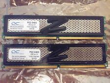 4GB Kit OCZ Technology (2x2GB) 800mhz Desktop Gaming Memory RAM DDR2 6400 Speed