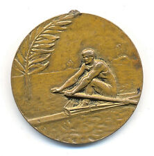 KAYAK - CANOE - ROWING - 1930 FIRST DANUBE COUNTRIES CHAMPIONSHIP  - rare medal