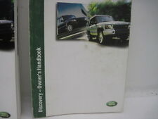 OWNERS MANUAL Land Rover Discovery Rover 2003 03 853225