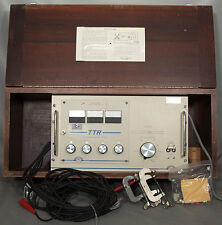 AVO-Biddle/Megger 550027 TTR Transformer Turn Ratio Test Set 550022