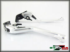 Strada 7 CNC Long Carbon Fiber Levers BMW R1200GS ADVENTURE 2006 - 2013 Silver