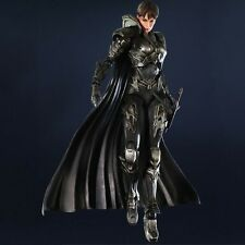 Flawed Box Superman Man of Steel Movie Faora-Ul Play Arts Kai Action Figure