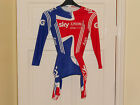 NEW Team GB SKY cycling skin suits skinsuit bike shorts Adidas track time trial