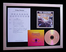 THE OSMONDS Crazy Horses CD TOP QUALITY MUSIC FRAMED DISPLAY+EXPRESS GLOBAL SHIP