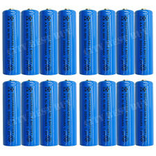 16 x AA 2A 3000mAh 1.2V Ni-MH NiMH Rechargeable Battery Blue