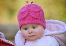 Knitting Pattern - Lady Butterfly Hat (Baby and Child sizes)