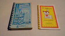 LOT OF 2 BOOKS FRENCH CARIBBEAN CREOLE, NEW ORLEANS COOKBOOK, LAGNIAPPE CAJUN