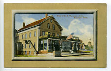 Wareham MA Mass Thompson Store, Groceries, people, men's clothing, early