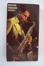 The Dexter Gordon Quartet Jazz at the Maintenance Shop VHS Video Tape