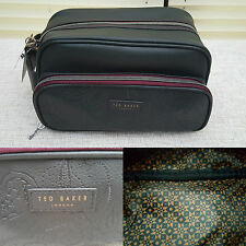 Ted Baker London Mens Paisley Toiletry Wash Bag Holiday Gym Christmas Gift 2016