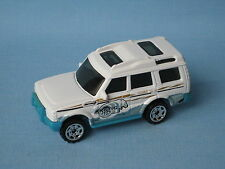 Matchbox Land Rover Discovery White Artic base Toy Model Car Disco 70mm UB