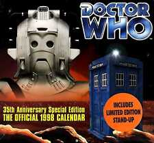 DOCTOR WHO 35th  Special Edition Official TV tardis 1998 CALENDAR MINT SEALED