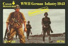 Caesar Miniatures 1/72 Ww2 German Infantry 1943 Asamblea Serie