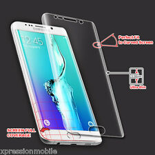 For Samsung Galaxy S6 Edge + Plus ShockProof Screen Protector Film Guard Curved