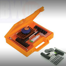 TYRE PUNCTURE HOLE REPAIR KIT TUBES CAR VAN WHEEL PATCHES GAUGE -OFF ROAD S25