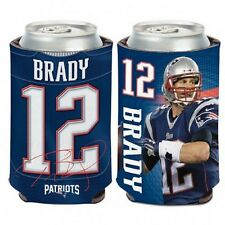 New England Patriots Tom Brady Can Cooler (NEW) Coozie Koozie Holder Drink