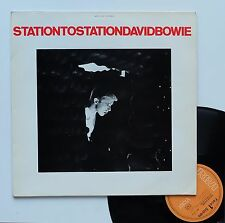 "Vinyle 33T David Bowie  ""Station to station"""
