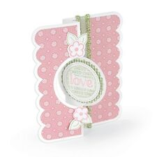 Sizzix Framelits Dies - Card, Circle Flip-Its #2 - 11 Dies #559171