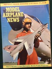 MODEL AIRPLANE NEWS Magazine August 1960