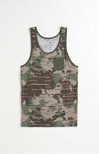 ON THEY BYAS CREW TANK TOP SLY BLOCK POCKET CAMOUFLAGE  MEN'S GUYS LARGE L NEW
