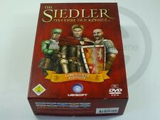 !!! PC WINDOWS SPIEL Die Siedler limitierte Edition, gebraucht aber GUT !!!