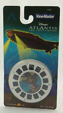 VIEW-MASTER ~ DISNEY ATLANTIS LOST EMPIRE~3 3D Reels~2001 73943 Fisher-Price~NEW