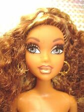 My Scene Night On The Town Madison Nude Doll with Rooted Eyelashes & Earrings