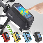 AXH US Roswheel Cycling Bike Front Top Frame Pannier Tube Bag Case Phone Holder