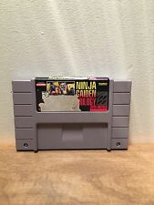 Super Nintendo SNES NINJA GAIDEN TRILOGY Original Authentic