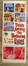 """US INSERT 14x36"""", DOWN AMONG THE SHELTERING PALMS, JANE GREER"""
