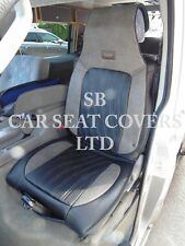 TO FIT A TOYOTA AVENSIS CAR, SEAT COVERS, YS 03 ROSSINI SPORTS BLACK/GREY