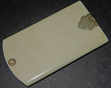 Quality Antique Victorian Aide Memoire made of natural (Not Bone) material c1850