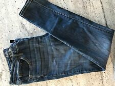 Womens Mossimo Super Stretch Low Rise Skinny Denim Jeans Size 14/32 Long