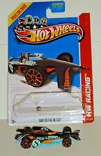 2013 Hot Wheels Racing #124 Bad To The Blade - Silent Treasure Hunt - Loose
