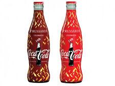 Coca Cola 2015 TRUSSARDI  2 bottiglie vuote con tappo vetro coke