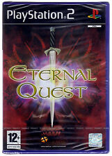 PS2 Eternal Quest (2004), UK Pal, New & Sony Factory Sealed