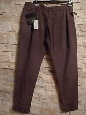 DOLCE & GABBANA BLACK LABEL COTTON PANTS, TAUPE, SZ ITAL 54/US 38, MADE IN ITALY