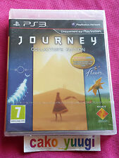 JOURNEY COLLECTOR'S EDITION SONY PS3 NEUF SOUS BLISTER ABIME VERSION FRANCAISE